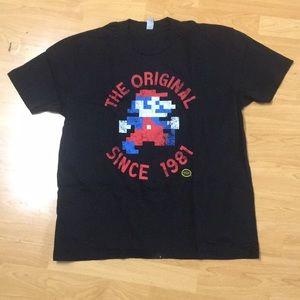 Men's Retro Mario Shirt